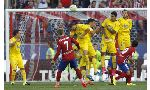 Atletico Madrid 1-0 Las Palmas (Spanish La Liga 2015-2016, round 1)